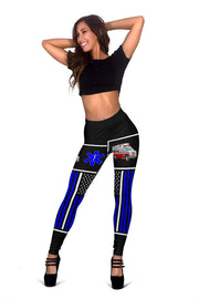 Image of EMT Full Length Leggings - Blue