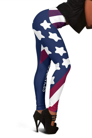 EMT Full Length Leggings - Catalina Blue