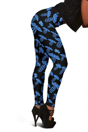 Image of EMT Full Length Leggings - Cornflower Blue