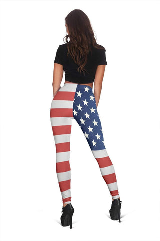 EMT Full Length Leggings - Medium Carmine