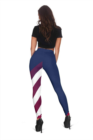 EMT Full Length Leggings - Pompadour