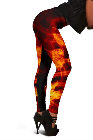 Firefighter Full Length Leggings - Pohutukawa