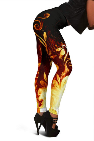 Firefighter Full Length Leggings - Shalimar