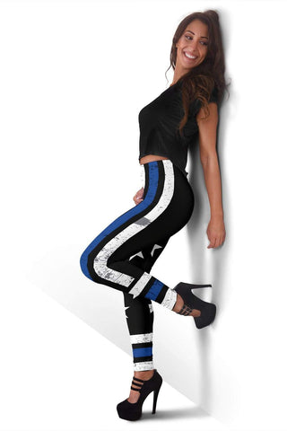 Police Full Length Leggings - Black