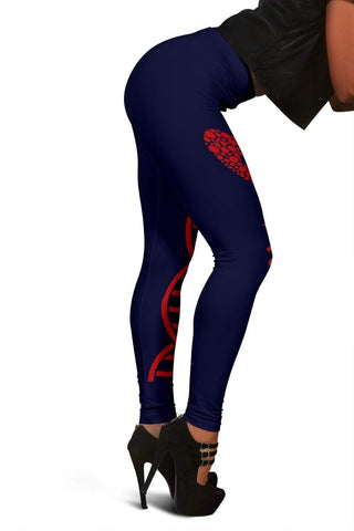 Image of Nurse Full Length Leggings - Midnight Express