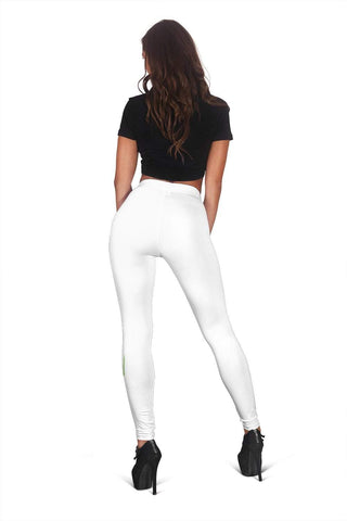 Nurse Full Length Leggings - Pattens White