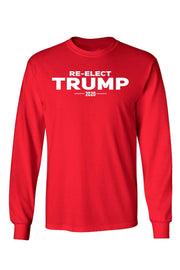Image of Unisex Re-Elect Trump 2020 Long Sleeve Shirt