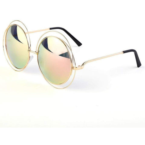Image of Vintage Round Steampunk Sunglasses