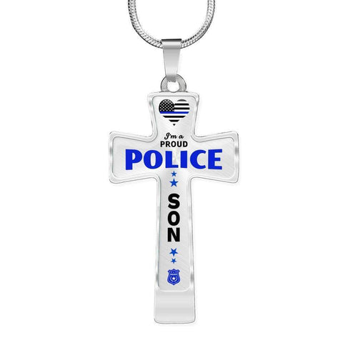 Image of I'm a Proud Police - Police Son Cross