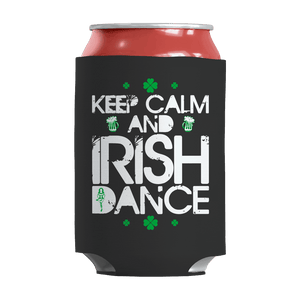 St. Patricks Day 2018 – Keep calm and Irish dance - Koozie St. Patricks Day Can Wrap
