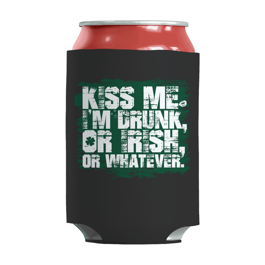 St. Patricks Day 2018 – Kiss Me Im Irish or Drunk or Whatever - Koozie St. Patricks Day Can Wrap