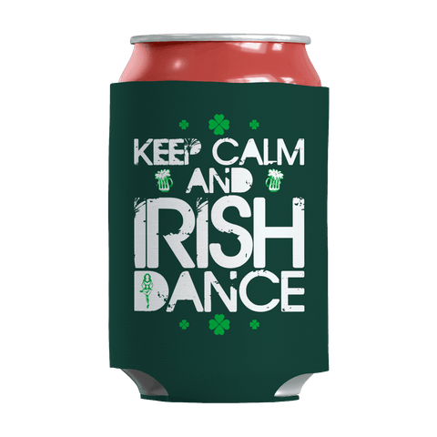 Image of St. Patricks Day 2018 – Keep calm and Irish dance - Koozie St. Patricks Day Can Wrap