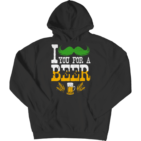 Image of St. Patricks Day 2018 – I Mustache You For A Beer - Shirts, Hoodies & Tanks