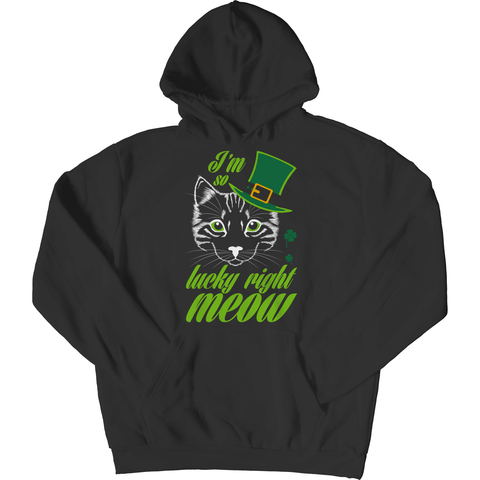 Image of St. Patricks Day 2018 – Im so lucky right meow - Shirts, Hoodies & Tanks