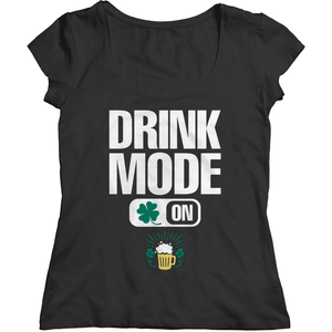 St. Patricks Day 2018 – Drink Mode On - Shirts, Hoodies & Tanks