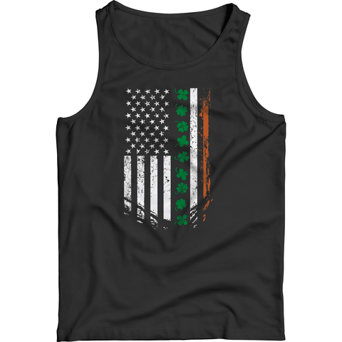 Image of St. Patricks Day 2018 – IRISH American - Shirts, Hoodies & Tanks