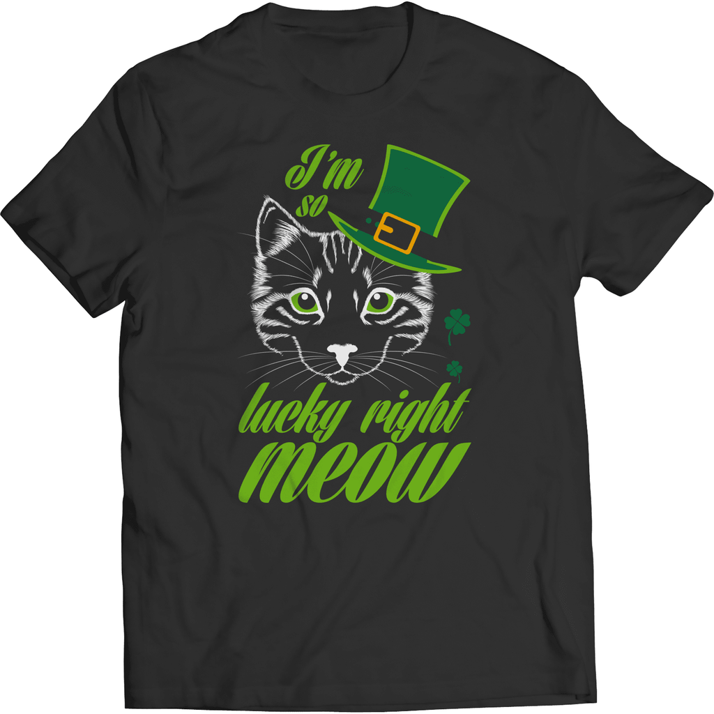 St. Patricks Day 2018 – Im so lucky right meow - Shirts, Hoodies & Tanks