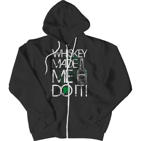 Image of St. Patricks Day 2018 – WHISKEY MADE ME DO IT - Shirts, Hoodies & Tanks
