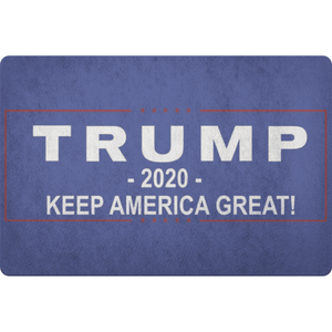 Keep America Great Welcome Mat - Trump 2020