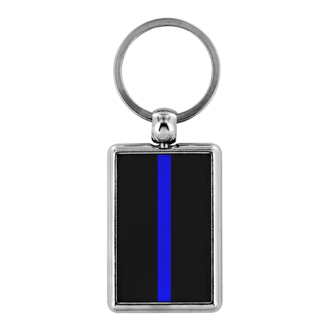 Thin Blue Line Keychain - Exclusive Keychains for Police Families and Supporters