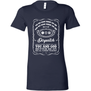 Image of You May Know Where You Are Dispatch - Bella Womens Shirt