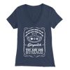 You May Know Where You Are Dispatch - Soft Bella Womens V-Neck