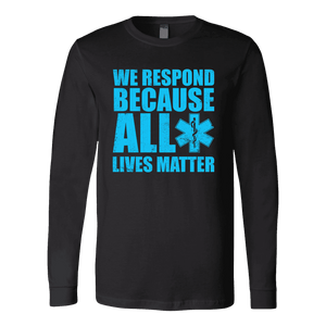 All Lives Matter - Soft Canvas Long Sleeve Shirt