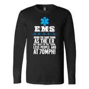 Image of Doing The Same Thing As The ER - Soft Canvas Long Sleeve Shirt