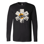 Image of EMT Halloween - Soft Canvas Long Sleeve Shirt
