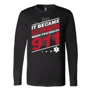 It Became My Problem EMT - Soft Canvas Long Sleeve Shirt