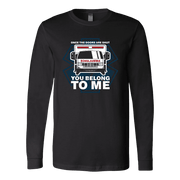 Image of Once The Doors Are Shut You Belong To Me - Soft Canvas Long Sleeve Shirt