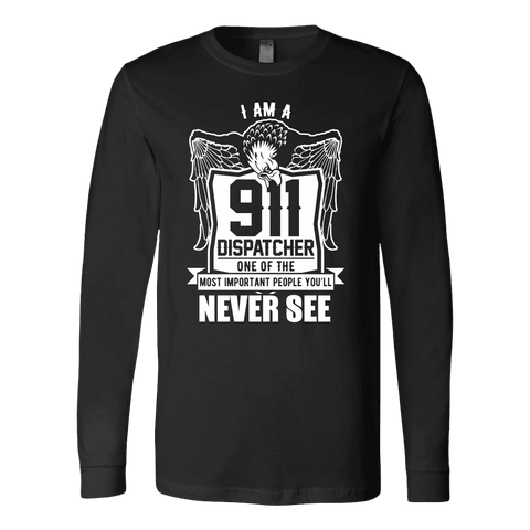 One of the Most Important People You will Never See - Soft Canvas Long Sleeve Shirt
