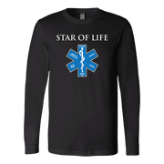 Image of Star Of Life - Soft Canvas Long Sleeve Shirt