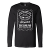 You May Know Where You are Dispatch - Soft Canvas Long Sleeve Shirt