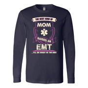 Image of Best Kind Of Mom - Soft Canvas Long Sleeve Shirt