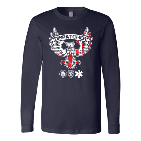 Image of Dispatcher - Soft Canvas Long Sleeve Shirt
