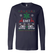Image of EMT Christmas - Soft Canvas Long Sleeve Shirt