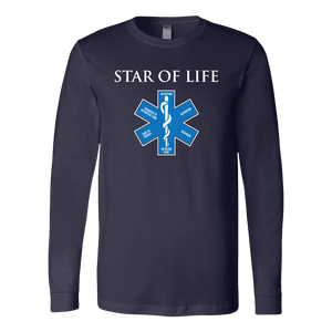 Star Of Life - Soft Canvas Long Sleeve Shirt