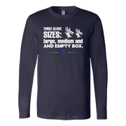 Image of Three Glove Sizes - Canvas Long Sleeve Shirt