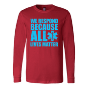 Image of All Lives Matter - Soft Canvas Long Sleeve Shirt