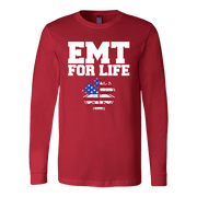 Image of EMT For Life - Soft Canvas Long Sleeve Shirt