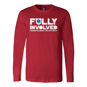 Fully Involved EMS - Soft Canvas Long Sleeve Shirt