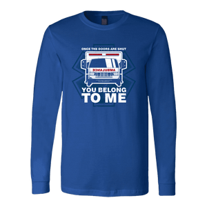 Once The Doors Are Shut You Belong To Me - Soft Canvas Long Sleeve Shirt