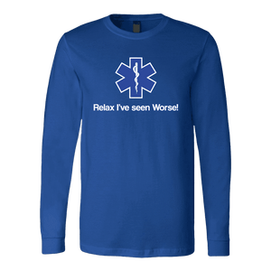 Relax I've Seen Worse - Soft Canvas Long Sleeve Shirt