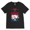 Race Car Driver Sponsored by Medicare - Canvas Mens V-Neck