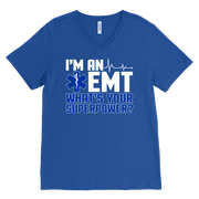 Image of I'm an Emt - Canvas Mens V-Neck
