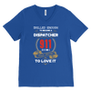 Skilled Enough to be a Dispatcher - Canvas Mens V-Neck