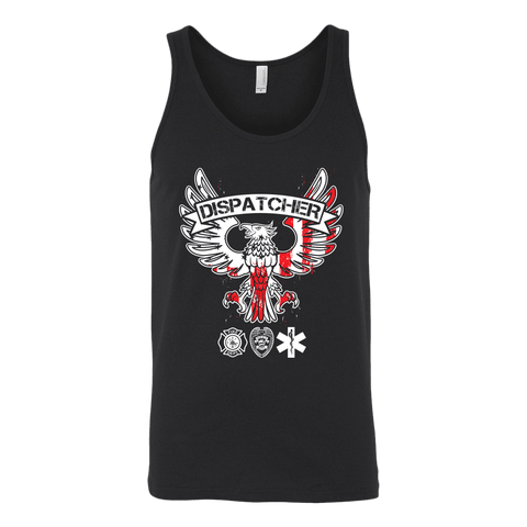 Dispatcher - Canvas Unisex Tank