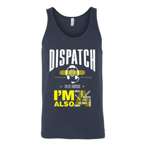 Dispatch - Canvas Unisex Tank