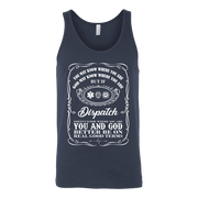 Image of You May Know Where You Are Dispatch - Canvas Unisex Tank